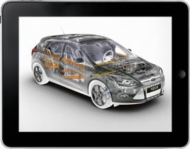 Autoservice Marx | Ford Schauraum App